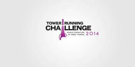 Návrh loga a corporate identity Towerrunning Challenge